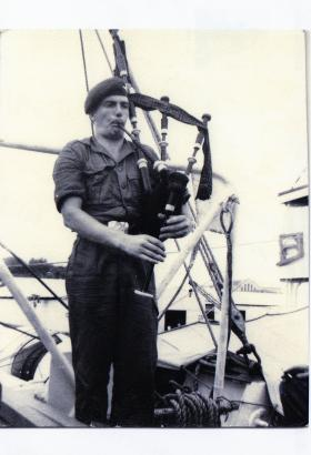 Piper John MacDonald. Singapore 1964.
