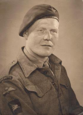 Portrait of Walter Matthew 'Ginger' Bell