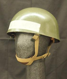 Helmet used by HRH Prince Charles on his Parachute Course, from the Airborne Assault Museum Collection, Duxford.