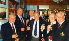 Veterans at the 2 PARA Sergeants' Mess Colchester 2005