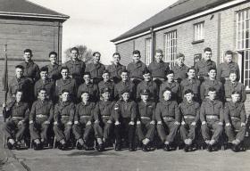 1 Platoon, Pre Para course at Aldershot, November 1953.