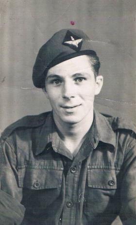 A member of 7th (LI) Para Bn, probably C Coy, c1946.