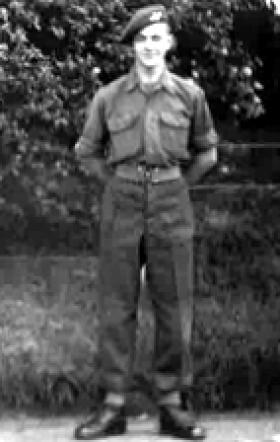 Fusilier Peter Ibbetson, c1945.