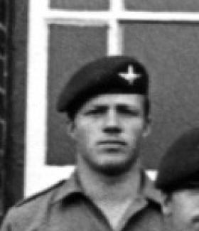 Pte Peter Grundy, 3 Platoon, A Company, 2 PARA, 1979.
