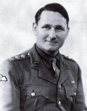 Captain Hector Montgomery, c1943.