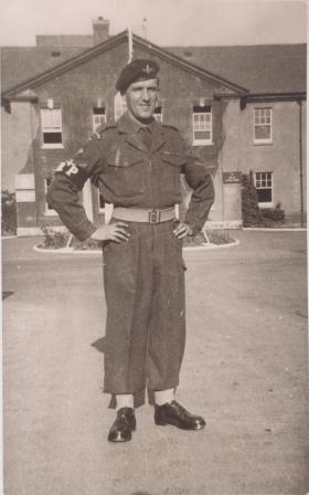 George (Jock) Moodie at Abingdon c1952-53