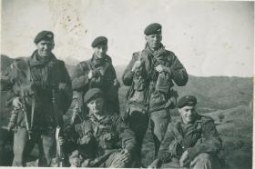 George Moodie with his section on Cyprus
