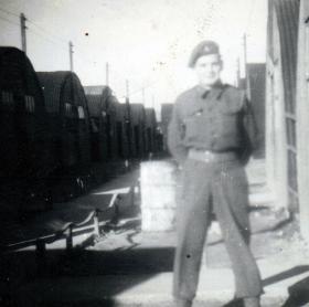 Pte Eric Aske, Toulon Transit Camp, Jan 1947.