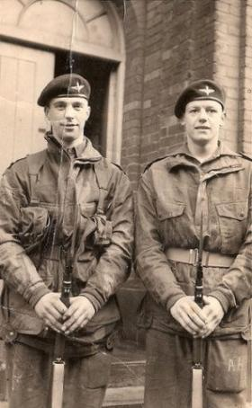 Pte Ivan Locke and Colleague 3 PARA 1950s
