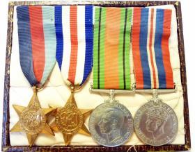 Medal Set of Pte James Ratcliffe.