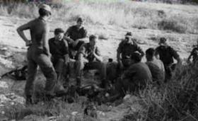 Members of C (Patrols) Company 2 PARA on exercise Cyprus, 1969.