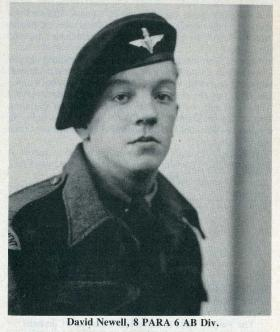 Pte David Newell 8th Para Bn c1943