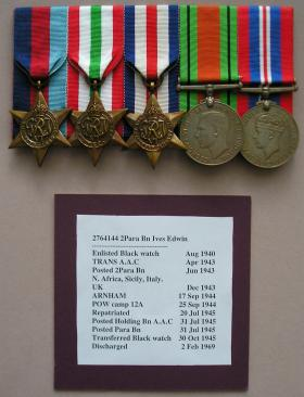 The Medals of Private Edwin Ives