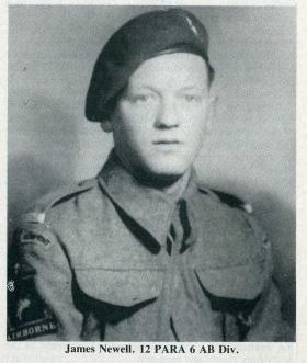 Pte James Newell c1944