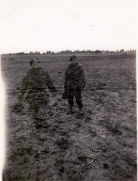 A double exposed image of Leonard Trewin, date unknown.