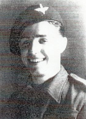 Private Robert E Johns, 1944.