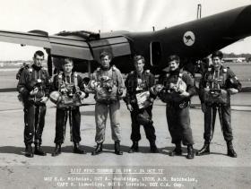 Free Fall Team Leaders Course PTS Australia 1978.