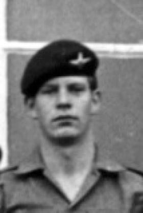Private Robert D V Jones, 3 Platoon, A Company, 2 PARA, 1979.
