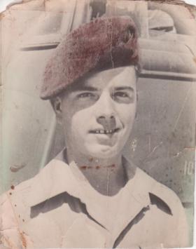 Pte Richard Hall circa 1946