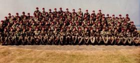 Members of Para Sqn RAC, 1975.