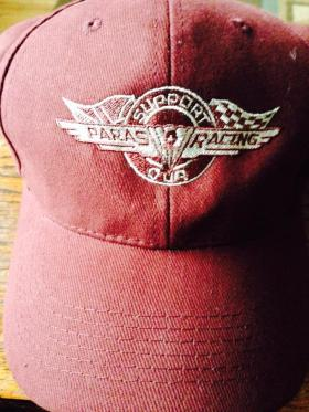 Support Our Paras Racing cap, 2014.