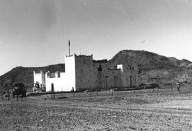 Fort Thutmion, Aden, 1957