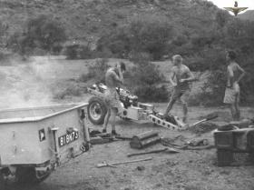 75mm Pack Howitzer, 33rd Para Light Regt RA, Radfan 1957