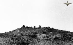 Old Hill Fort, Radfan, 1957