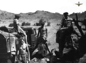 Members of 33rd Para Light Regiment RA, Radfan, c1957