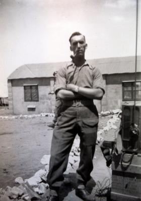 Unknown soldier of 1st Parachute Bn, Palestine, c1947.