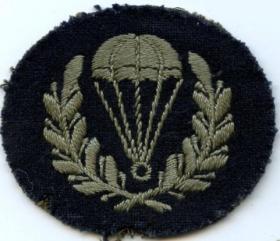RAF Parachute Jump Instructors' Insignia  (Until November 1945)