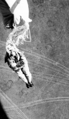 Parachuting, RAF Abingdon, 1960s.