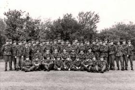 447 Pln & All Arms Para Course, RAF Brize Norton, 1978.