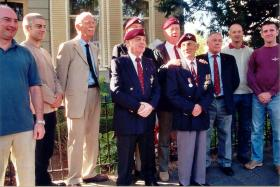 Members of the 10th Battalion at the 60th Arnhem Reunion
