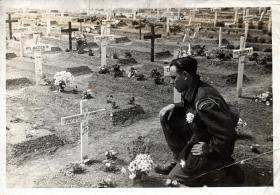 Ranville War Cemetery, 1945.