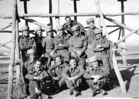 Parachute training at Rawalpindi Depot, India, February 1945.