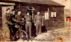 Members of 8th Battalion possibly Tilshead camp c1943