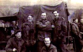 Members of 8th (Midland Counties) Parachute Battalion, Tilshead circa 1944.