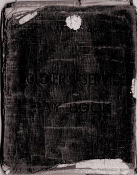 CSM Burns' Soldiers Service and Pay Book