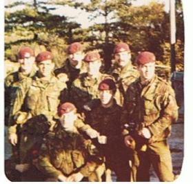 Members of 10 PARA Recruit Training Wing, 1979.