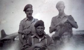 Members of 2 PARA ready for Egypt, 1951
