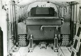 Rear view of M22 Locust in a Hamilcar Glider, c.1945