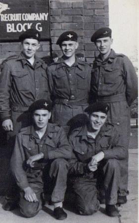 Members of Recruit Company, Depot 1956