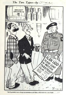 Red Beret Cartoon from Pegasus October 1952