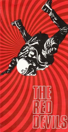 Red Devils Promotional Leaflet, 1969