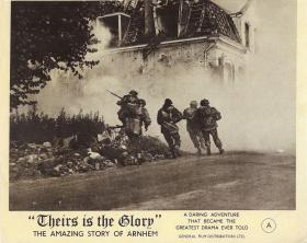 'Theirs is the Glory' promotional poster, 1946.