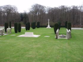 CWGC Reichswald Forest War Cemetery 2010