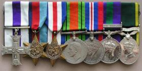 Medal set of Major DR Reid