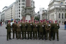 Members of 144 Para Med Sqn, Westminster Abbey, Remembrance Sunday 2008