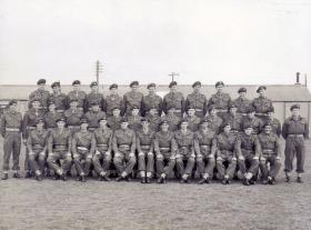 Group photograph of members of the 11th Parachute Bn TA 1950s
